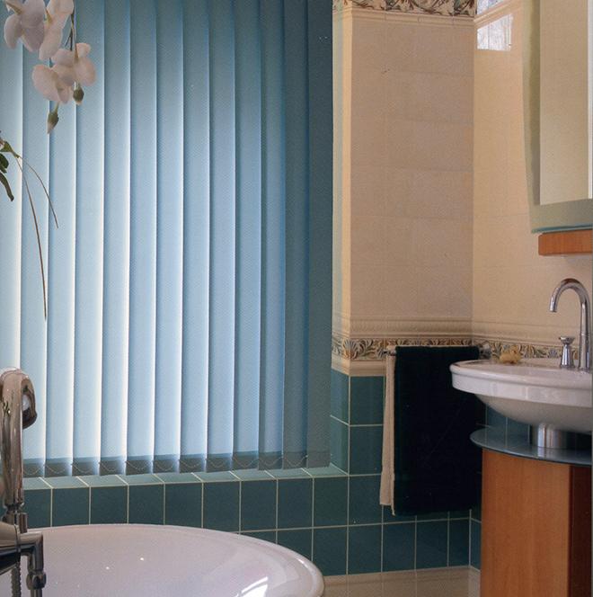 Innovativ Lamellenvorhang nach Maß, Sonnenschutz für jede Fensterform. WM85